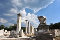 موقع مدينة ستراتونيكا حيث اكتشفت الطريق (الأناضول)