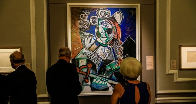 Picasso's works will be on display in İzmir until Jan. 5, 2020.