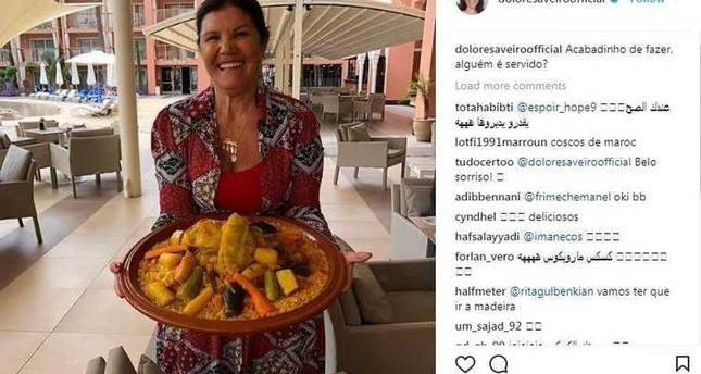 والدة رونالدو تحتفل بمقصية نجلها بـالكسكسي المغربي