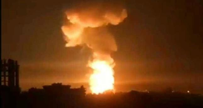 قتيلان في القصف الصاروخي على مؤسسة الصناعات التقنية باللاذقية