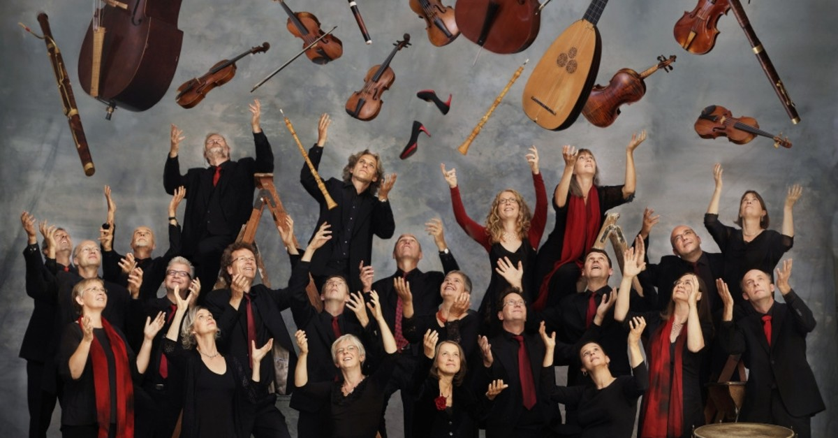 Akademie Fur Alte Musik photographed by Uwe Arens, courtesy of the Istanbul Foundation for Culture and Arts.