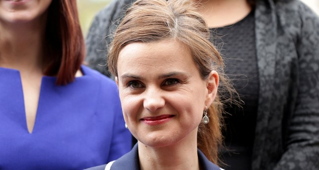 Batley and Spen MP Jo Cox is seen in Westminster May 12, 2015. Reuters Photo