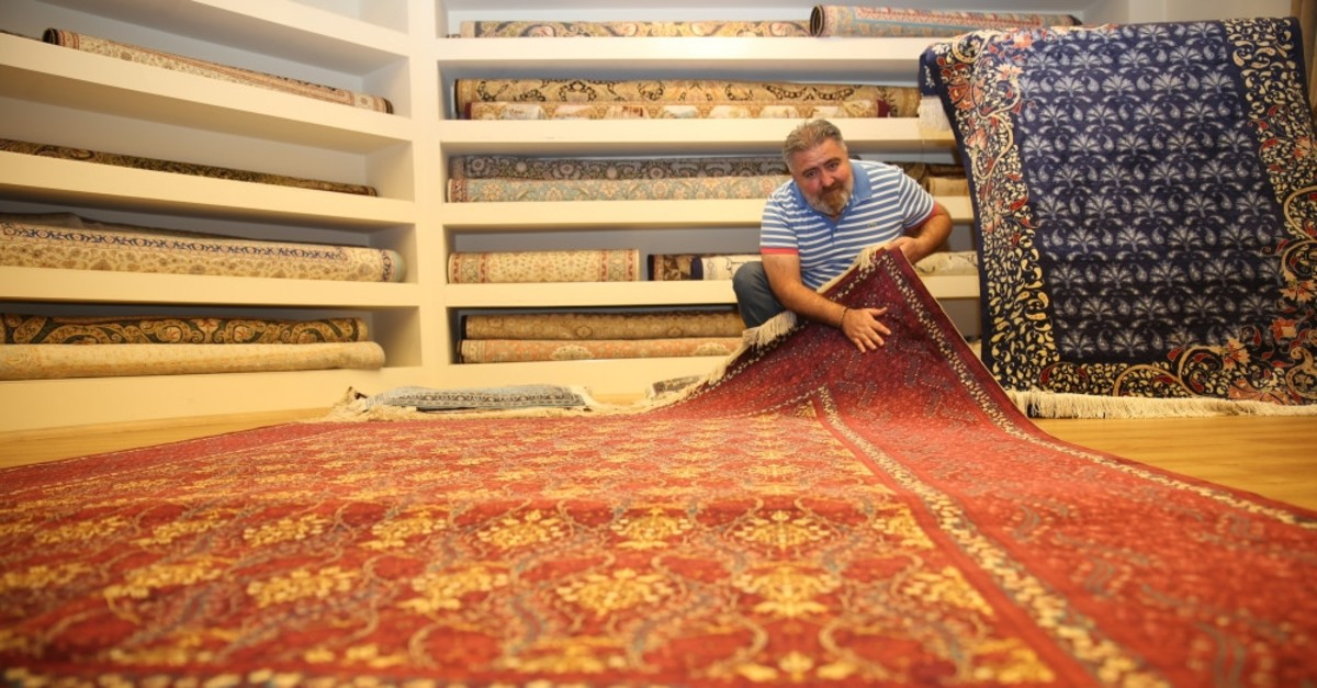 Handwoven silk carpets of Cappadocia are the finest examples of Anatolian craftsmanship.