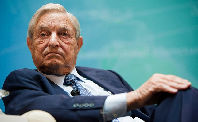 George Soros, founder of Soros Fund Management LLC, takes part in a panel discussion at the International Monetary Fund (IMF) and World Bank annual fall meeting in Washington, D.C., U.S., on Saturday, Sept. 24, 2011.
