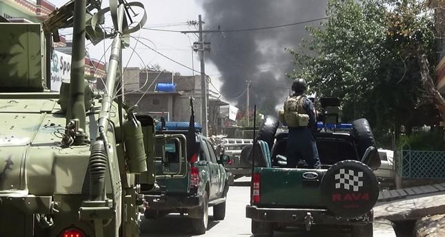 ثمانية قتلى وأربعون جريحا في انفجار لغم بحافلة في افغانستان