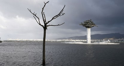 pBad weather disrupted daily life in the western city of Izmir on Thursday, with rising sea levels flooding the city's famous Kordon coastline, while in Istanbul, ferry services were temporarily...