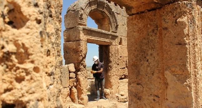اكتشاف تحفة أثرية دينية عمرها 1700 عام في ديار بكر التركية