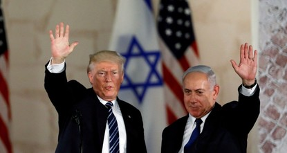 Trump spares no effort to keep Netanyahu in power