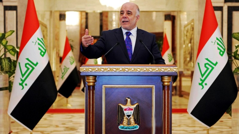 File Photo of Iraqi Prime Minister Haidar Abadi