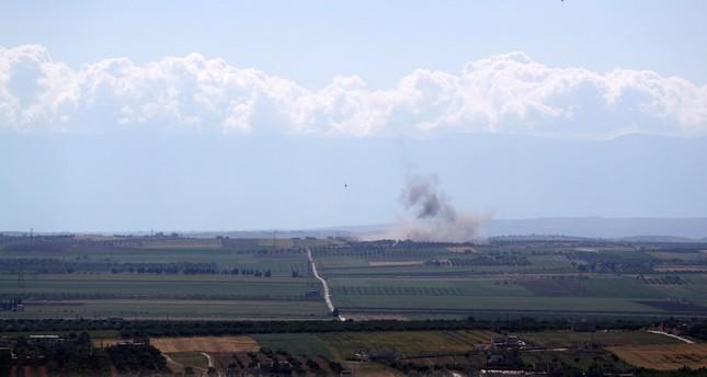قوات النظام تقصف محيط نقطة مراقبة تركية بإدلب للمرة الثالثة