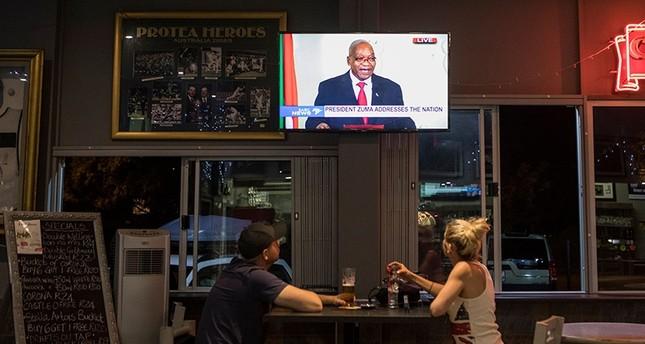 زوما أعلن استقالته في خطاب وجهه إلى الشعب (الفرنسية)
