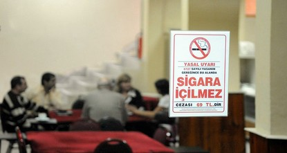 pAuthorities have penalized some 6,653 Istanbul localities that allowed cigarette smoking in closed locations last year. The fines amounted to more than 15 million Turkish lira (3.8 million...