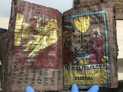 4 ancient books depicting life of Jesus seized in Turkey's Denizli