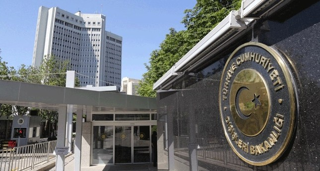 MFA slams German statements on Büyükada suspects