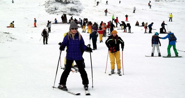 Turkish ski resorts, mountain retreats welcome tourists this winter season