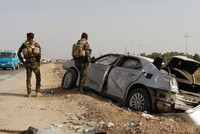 Daesh suicide bombing targets Iraqi army checkpoint south of Baghdad, kills at least 10