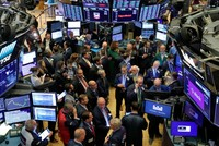 US stocks dragged down by Iran tensions, trade worries as Fed in focus
