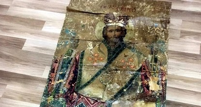 pAn icon of Jesus Christ believed to date back to the 18th century, was seized by Turkish police on Tuesday in the southern Adana province./p  pThe icon, a religious painting on cloth, was found...