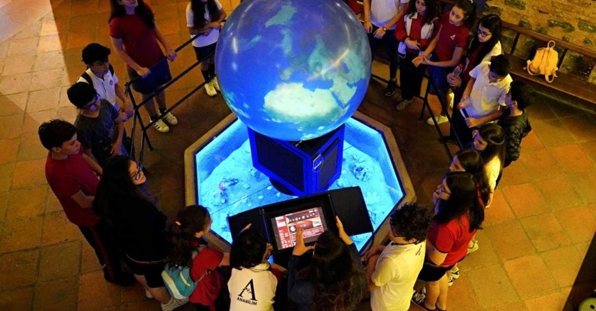 Children will learn details about our universe with a magic sphere at the Astronomy Workshop.