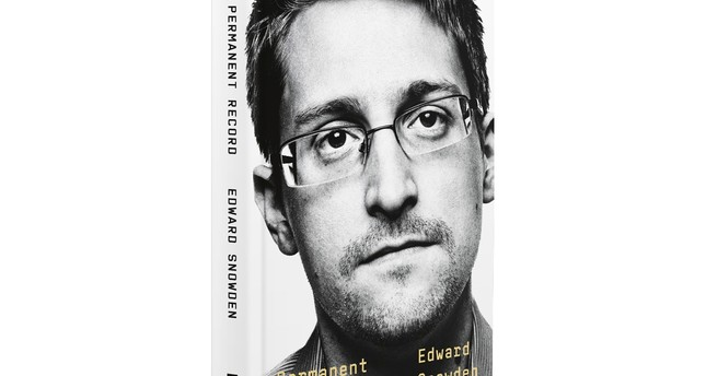 """This image provided by  Metropolitan Books shows the cover of  Edward Snowden's """"Permanent Record. AP Photo"""