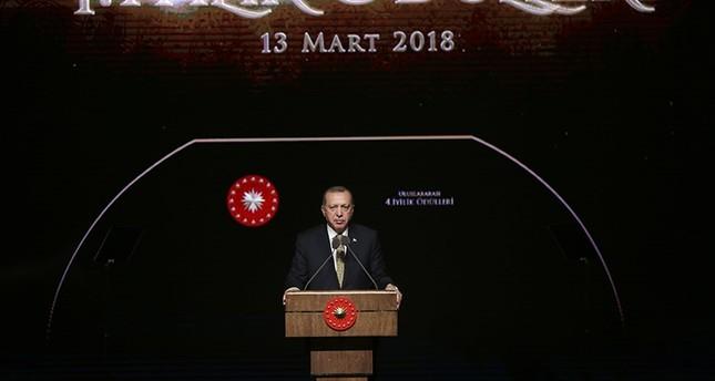 أردوغان: لم ندخل عفرين لاحتلالها بل لتسليمها لأصحابها الحقيقيين