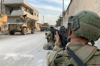 جنود أتراك في عملية نبع السلام شمال سوريا (الأناضول)
