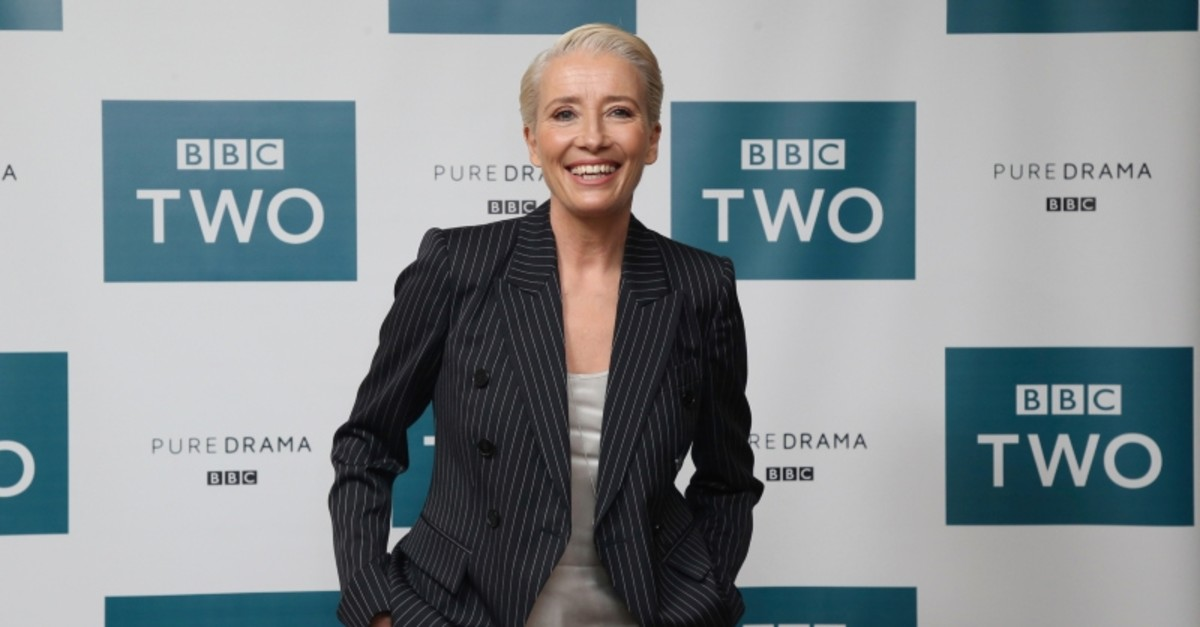 In this March 28, 2018 file photo, Emma Thompson appears at a screening of ,King Lear, in central London. (AP Photo)