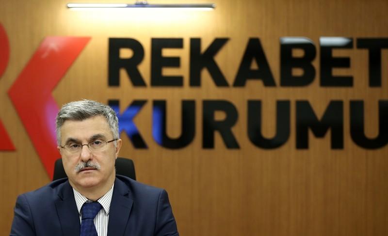 The head of Turkey's Competition Authority u00d6mer Torlak (AA Photo)