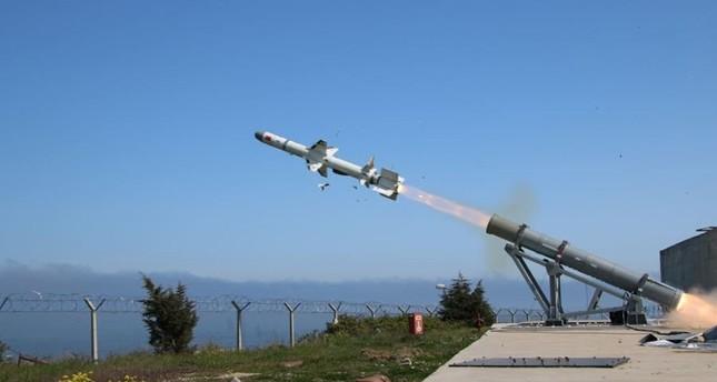 De nieuwe maritieme raket van Turkije kan doelwitten met uiterste nauwkeurigheid raken