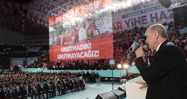 أردوغان: الأتراك يتشبثون بميراث أجدادهم من آسيا الوسطى إلى جزيرة سواكن السودانية