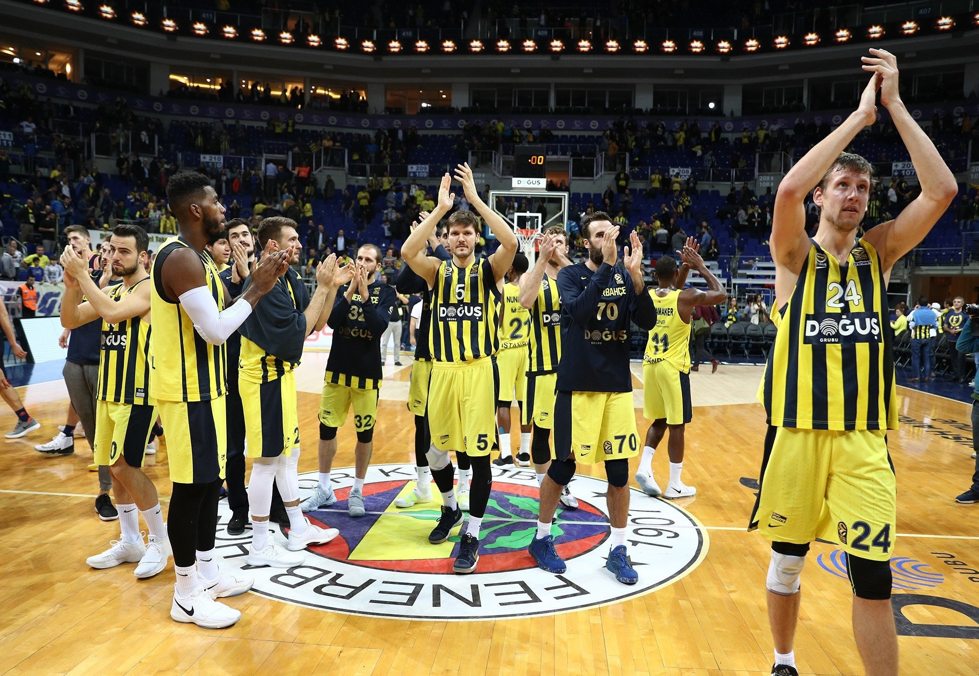 Fenerbahu00e7e became the EuroLeague runner-up last season.