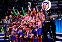 Atletico Madrid beats Real Madrid to win Super Cup