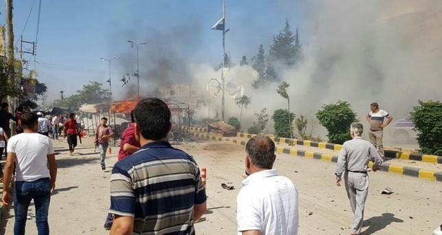 قتلى وجرحى في انفجار سيارة مفخخة في اعزاز بريف حلب