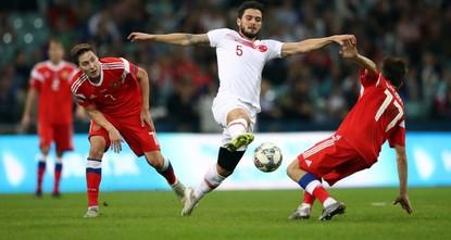 Сборные Турции и России поднялась в рейтинге ФИФА