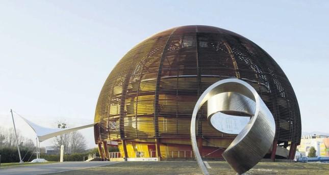The headquarters of the European Organization for Nuclear Research (CERN), near Geneva.