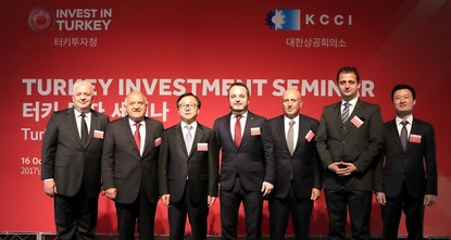 pThe Investment Support and Promotion Agency of Turkey (ISPAT) met investors in South Korea and China during investment seminars in the countries from Oct. 16 to Oct. 20. Inviting South Korean and...