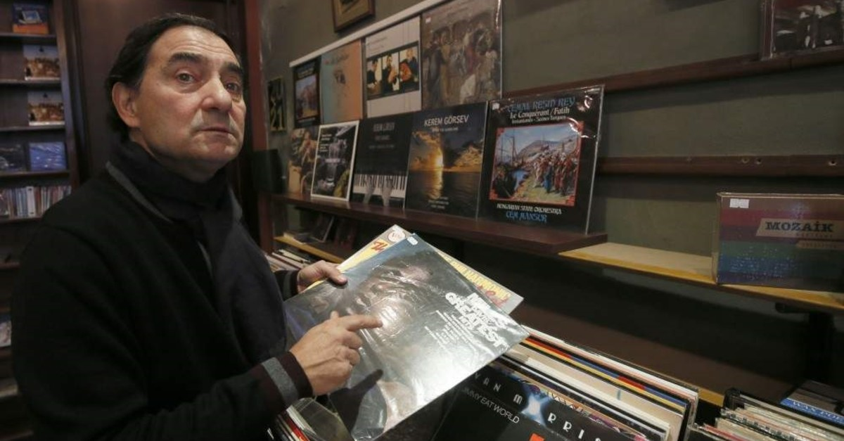 Atala said he never sold a record at Lale Plak before listening to it first. (AA Photo)