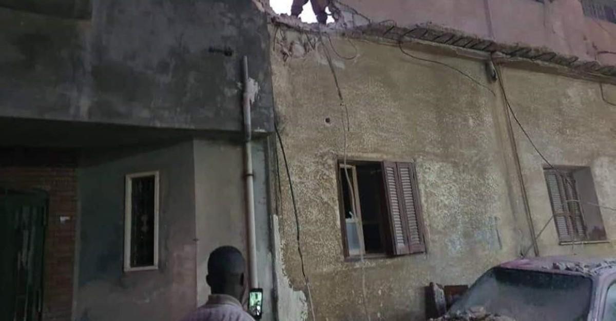 Forces loyal to putschist Gen. Khalifa Haftar repeatedly conduct attacks on civilian settlements in Libya's capital Tripoli, Feb. 3, 2020. (IHA Photo)