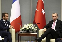 The official Twitter account of the Turkish Presidency poked fun at French President Emmanuel Macron Wednesday over a previous statement he had made about Recep Tayyip Erdoğan.  The presidency...