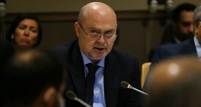 فريدون سينيرلي أوغلو السفير التركي الدائم في الأمم المتحدة