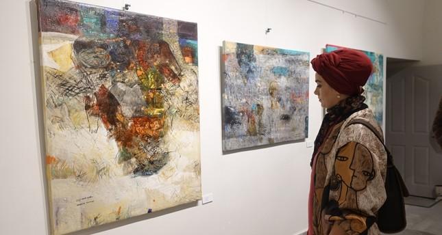 Syrian artist shows impact of war on children in Istanbul exhibit