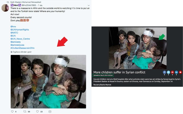 PYD leader Salih Muslum breaks silence retweeting fake news about Turkey's Afrin op