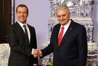 Йылдырым и Медведев обсудили «Турецкий поток»