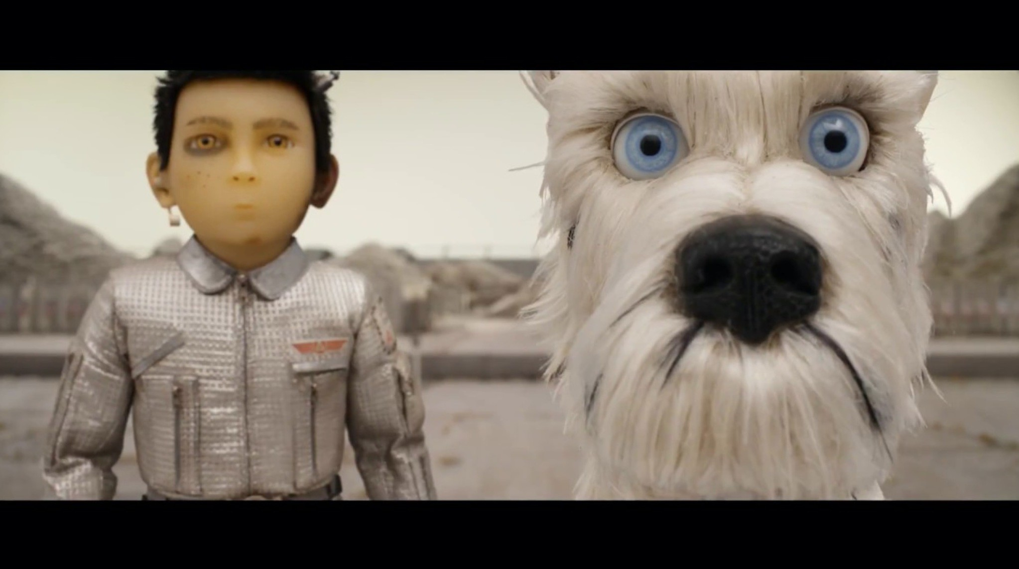 u201cThe Isle of Dogsu201d by Wes Anderson.