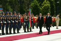 Erdoğan visits Azerbaijan, Northern Cyprus in first visit abroad after re-election