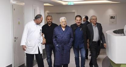 مصدر طبي: الرئيس الفلسطيني تجاوز مرحلة الخطر وحالته جيدة