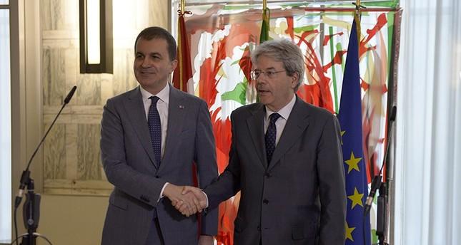 إيطاليا: انفتاحنا تجاه تركيا حقيقة تاريخية تمليها المصالح الاستراتيجية