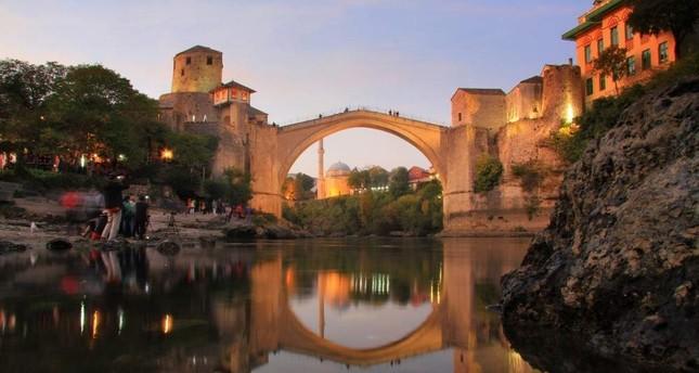 Mostar Bridge connect past and present of Bosnians, Croatians