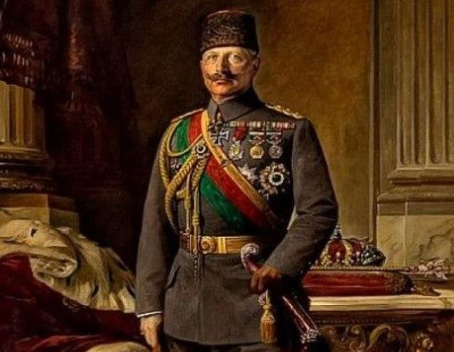 The painting was hung in the Wilhelm II hall of the Consulate General of Germany in Istanbul in the early 1980s.