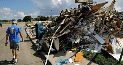pA Texas city devastated by the catastrophic Hurricane Harvey will only provide relief funds to residents who pledge not to boycott Israel./p